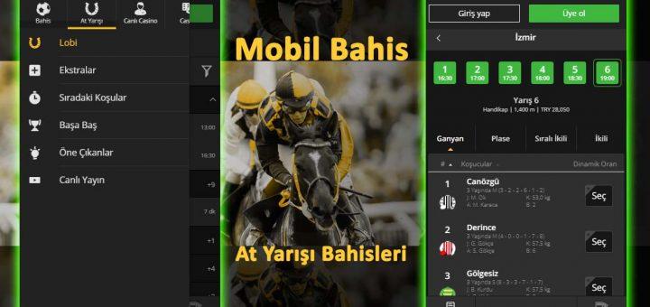 Mobil Bahis At Yarışı Bahisleri