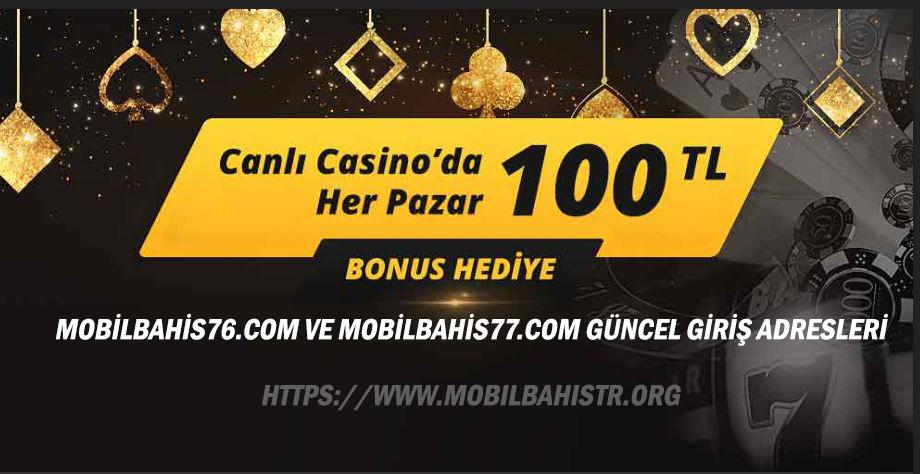 Mobilbahis76.com ve Mobilbahis77.com Güncel Giriş Adresleri